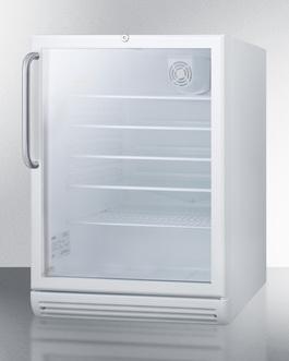 SCR600GLTBADA Refrigerator Angle