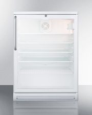 SCR600GLTB Refrigerator Front