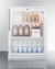 SCR600GLTB Refrigerator Full