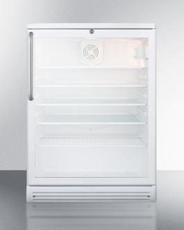 SCR600GLBITB Refrigerator Front