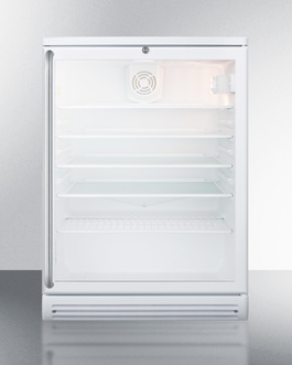SCR600GLSH Refrigerator Front