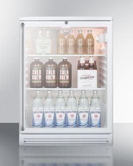 SCR600GLSH Refrigerator Full