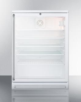 SCR600GLBISH Refrigerator Front