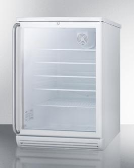 SCR600GLBISH Refrigerator Angle