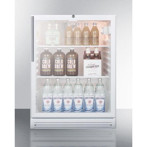 SCR600GLBIHVADA Refrigerator Full