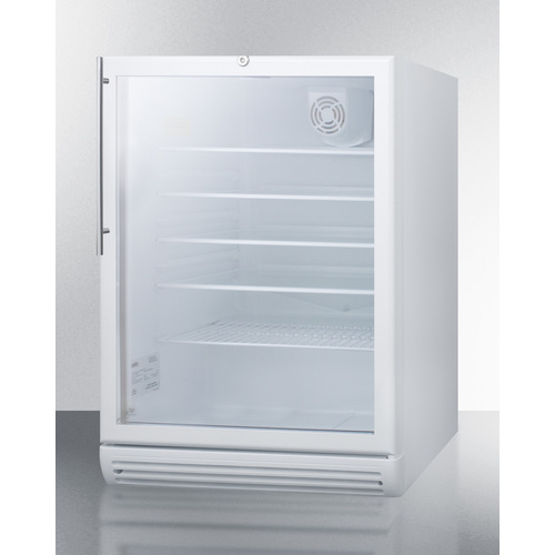 SCR600GLBIHVADA Refrigerator Angle