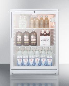 SCR600GLHV Refrigerator Full