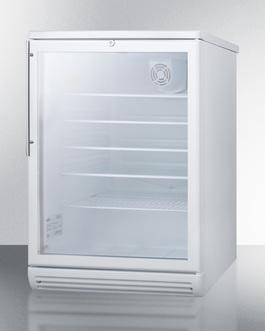 SCR600GLBIHV Refrigerator Angle