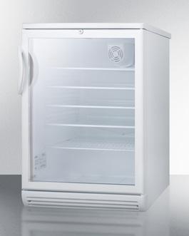 SCR600GLADA Refrigerator Angle