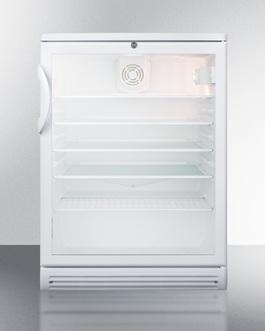 SCR600GL Refrigerator Front