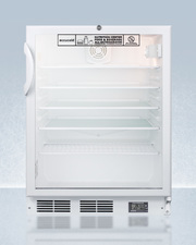 SCR600GLBINZADA Refrigerator Front