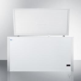 EQFF122 Freezer Open