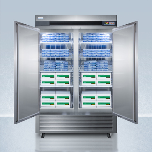 AFS49ML Freezer Full