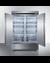 SCFF497 Freezer Open