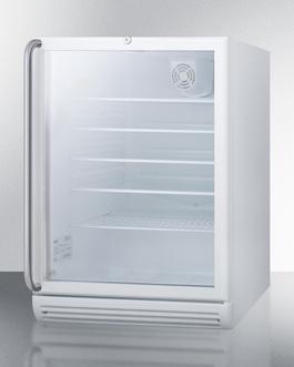 SCR600GLSHADA Refrigerator Angle