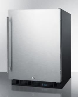 SCR610BLSD Refrigerator Angle
