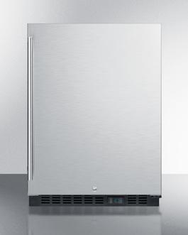 SCR610BLSD Refrigerator Front