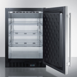 SCR610BLSD Refrigerator Open