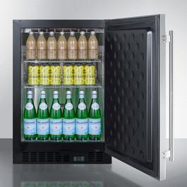 SCR610BLSDCSS Refrigerator Full