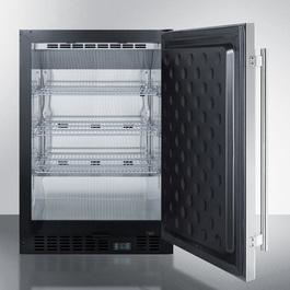 SCR610BLSDCSS Refrigerator Open