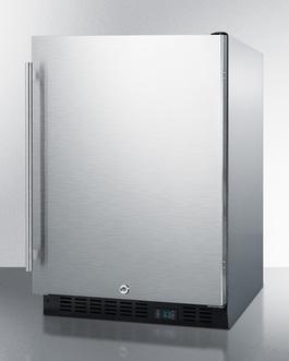 SCR610BLSDCSS Refrigerator Angle