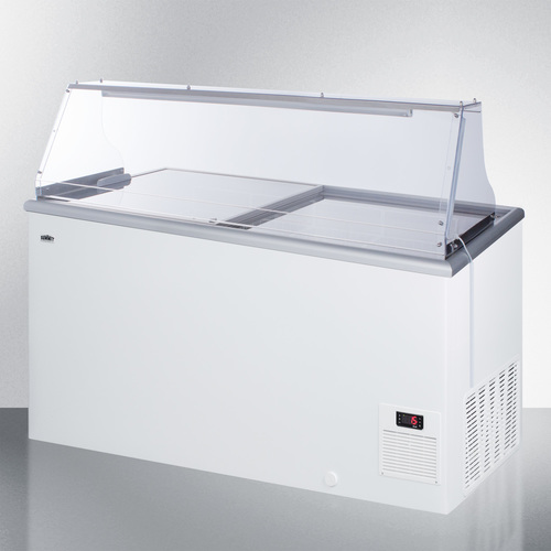 NOVA45PDC Freezer Angle