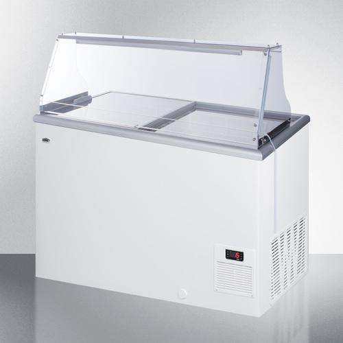 NOVA35PDC Freezer Angle