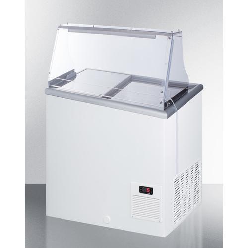 NOVA22PDC Freezer Angle
