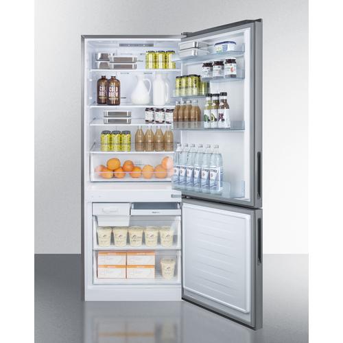 FFBF279SS Refrigerator Freezer Full