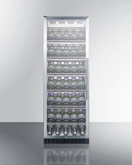 SCR1401LHCHCSS Wine Cellar Full