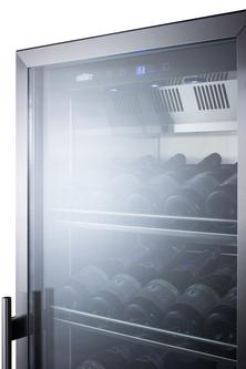 SCR1401CHCSS Wine Cellar Detail