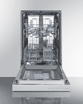 DW18SS4 Dishwasher Open