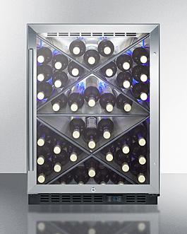 SCR610BLX Wine Cellar Full