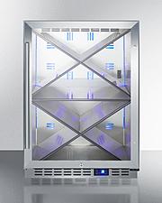 SCR611GLOSX Wine Cellar Front
