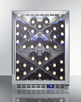 SCR610BLXCSS Wine Cellar Full