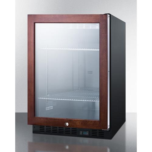 SCR610BLPNR Refrigerator Angle