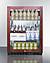 SCR610BLPNR Refrigerator Full