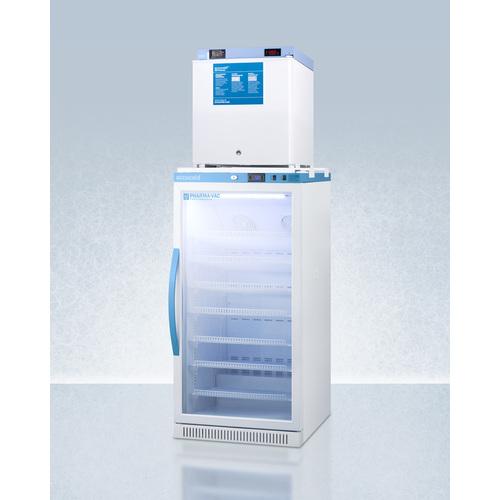 ARG8PV-FS24LSTACKMED2 Refrigerator Freezer Angle