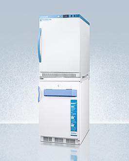ARS6PV-VT65MLSTACKMED2 Refrigerator Freezer Angle