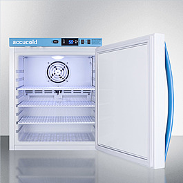 MLRS1MC Refrigerator Open