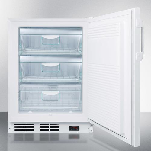 VT65MLBIMCADA Freezer Open