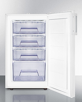 FS407LMC Freezer Open