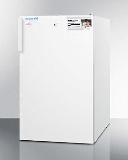 FS407LMC Freezer Angle
