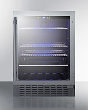SCR2466B Refrigerator Front