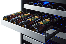 ALWC532CSS Wine Cellar Detail