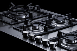 GCJ536SS Gas Cooktop Detail