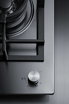 GCJ1SS Gas Cooktop Detail