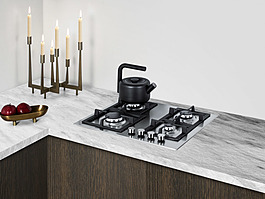 GCJ4SS Gas Cooktop Set