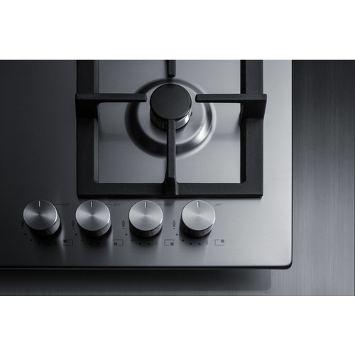 GCJ4SS Gas Cooktop Detail