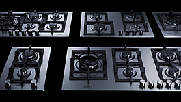 GCJ4SS Gas Cooktop Group